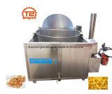 Cer-Gas-Kartoffelchips, die Bratpfanne-Maschine frittieren