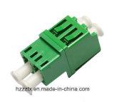 LC/LC de duplex Single-Mode Optische Koppelingen van de Vezel