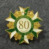 사기질 색깔 (xd-060)를 가진 캐나다 단풍잎 상징 로고 접어젖힌 옷깃 Pin