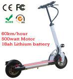 Pliage en aluminium Mini 2 roues scooter électrique pour les adultes