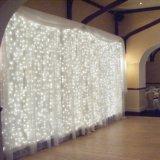 3*1m 144 LED-Weihnachtsvorhang beleuchtet LED-Licht mit männlichem und weiblichem Verbinder