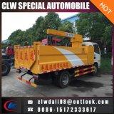 Camion de creusement de drague de canalisation de 4*2 Dongfeng, camion de dragage d'égout à haute pression