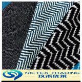 Tissu de laine laine Tweed à chevrons, tissu de laine tissé Enduire, de la laine Tissu mélangé