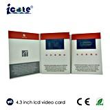 Videokarten des LCD-Videokarte Buiness Spielkarte LCD-video Gruß-Card/Gv
