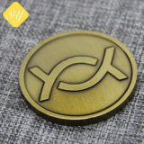 Оптовая торговля индивидуальные цинк сплав украшения монеты