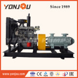 트레일러 유형 물 공급 디젤 엔진 수도 펌프 세트