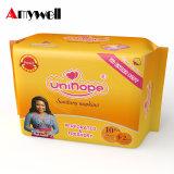 Serviette hygiénique respirable d'absorption élevée