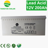 2017 baterias solares do inversor do ciclo profundo superior da venda 12V 200ah
