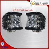 45W 3 2年の側面の射手LED車作業ライト