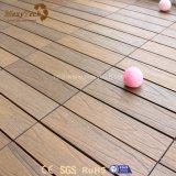 Плитки палубы блокировки WPC DIY популярной безопасности Anti-Slip для домочадца