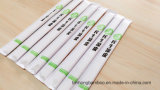 24cm Tensoge die Ess-Stäbchen mit passen das in Papier eingewickelte Firmenzeichen voll an