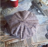 Шотландки Англии осени и зимы шлем берета теплой ретро вскользь