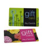 Titular de Tarjeta de papel impreso personalizado de tarjetas de regalo de plástico