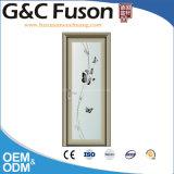 中国の工場浴室のためのアルミニウムプロフィールフレームの開き窓のガラスドア