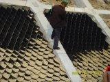Vlotte die HDPE Geocell van de Oppervlakte in de Aanleg van Wegen wordt gebruikt