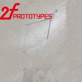 Le PMMA transparent en acrylique de polissage CNC Prototype rapide en plastique usiné OEM blanchi de gravure de pièces de précision