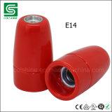 型の磁器E14のランプソケットのペンダントソケット