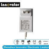24V 0.625um tipo de parede de 15W Adaptador de alimentação AC/DC para comutação com UL FCC