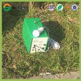 Nécessaires d'énergie solaire des nouveaux produits 12V8ah 20W avec la charge de téléphone