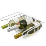Rek van de Opslag van de Wijn van de Draad van het Metaal van 3 Fles van Minghou het Modulaire voor Ijskast
