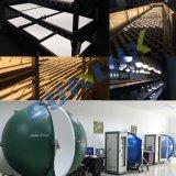 アルミニウム低価格およびプラスチック9W 110V-240Vは暖かい白E27日夜ライトセンサーLEDの球根を冷却する