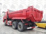 De Vrachtwagen van de Stortplaats van het Lichaam van Sinotruk HOWO 6X4 371HP Volvo