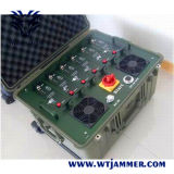 320W High Power GPS Wi-Fi Concealment Phon Multi Band Jammer (Waterproof & shockproof design)