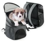 De grijze Zak van de Rugzak van de Carrier van het Huisdier voor het Puppy van de Hond
