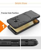 Стальная броня ударопрочность Встроенная подставка для Samsung Galaxy S9
