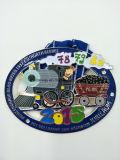Подгонянное покрынное эмалью медаль металла пожалования призовое