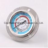 Commerce de gros purificateur d'eau compteur de pression en acier inoxydable