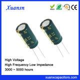 De hoge Elektrolytische Condensator van het Aluminium van Frequecy 3.3UF 160V 5000hours