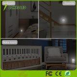 0,6 W 110-130V 5000K el anochecer al amanecer del sensor de luz LED de luz nocturna