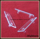 Cella personalizzata di vendita superiore della provetta del quarzo di flusso con i tubi laterali