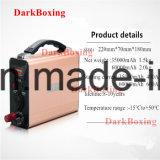 Cámara DV batería de emergencia con el Banco de potencia de los altavoces de alta capacidad 35000/60000RoHS mAh