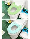 漫画の冬の動物の洗面所のマットの便座の洗面道具のパッド