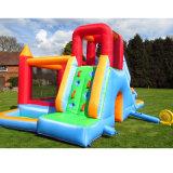 840d Polyester y lona de PVC Zoo inflables juego Bouncer con piscina