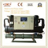 30квт промышленных открытого типа охладитель с водяным охлаждением винтового типа