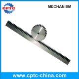 Механизм реечной передачи шестерни шпоры нержавеющей стали