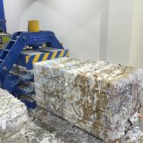 Hba40-7272 Hydrulic embaladora automática de material de reciclagem