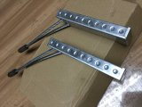 Materiais de construção na fundição de hardware na caixa de ligação em loop