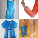 Wegwerfplastik-CPE-PET Schuh-Deckel mit nicht Beleg