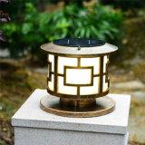 太陽柱ランプの屋外の庭夜ライトのための景色ライト