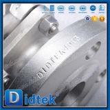 Didtek 레버에 의하여 운영하는 2 조각 연약한 밀봉 공 벨브