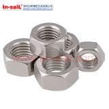 DIN555 ISO4034 Sechskantmuttern Sechskant-Muttern