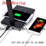 Cargador sin hilos de la lámpara de vector del teléfono celular para la batería de Samsung Huawei del iPhone