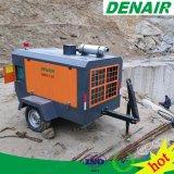 265cfm Compressor van de Lucht van het Type van Schroef van de Dieselmotor de Mobiele (DACY 7.5/7)