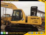 Komatsu PC220-6 utiliza maquinaria de construcción excavadora de cadenas hidráulico