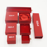 Schmucksache-Geschenk-verpackenkasten der Frauen des Mädchens mit Fach (J64-E1)
