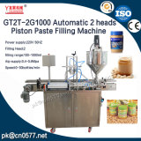 Cabeças dobro automáticas que engarrafam a máquina de enchimento da pasta do feijão (GT2T-2G1000)